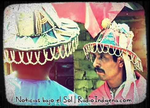 Nahuas durante danza tradicional en Ayotitlán, jalisco. Imagen: Ricardo Ibarra